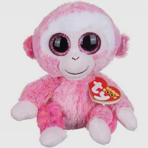 Ruby then beanie boo monkey