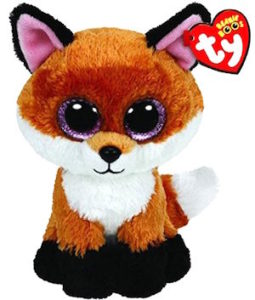 Slick the beanie boo fox
