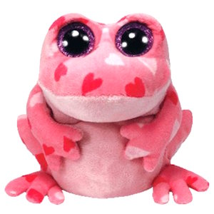 Smitten the beanie boo frog