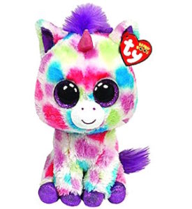 Wishful the beanie boo Unicorn.