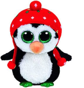 Beanie Boo Penguin Named Freeze