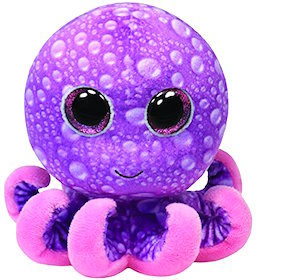 beanie boo octopus named Legs.
