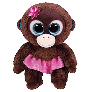 Beanie Boo Monkey Named Nadya