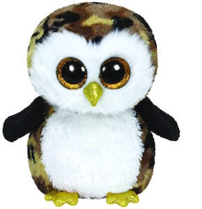 Beanie Boo Owl Named Owliver